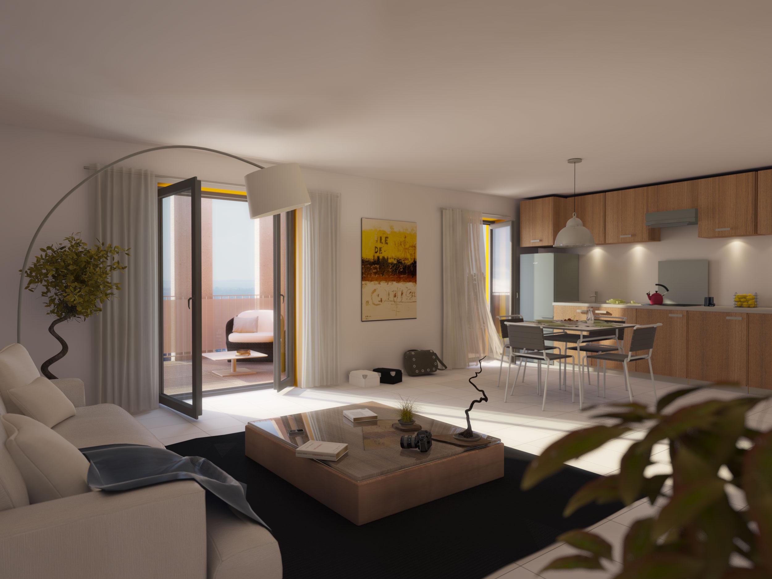 """Promotion immobilière 3D """"Notre Maison"""","""