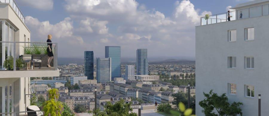Animation 3D urbaine
