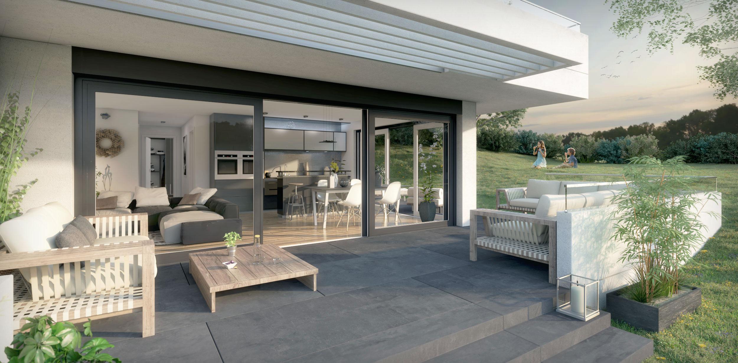 Infographie 3D de promotion immobilière