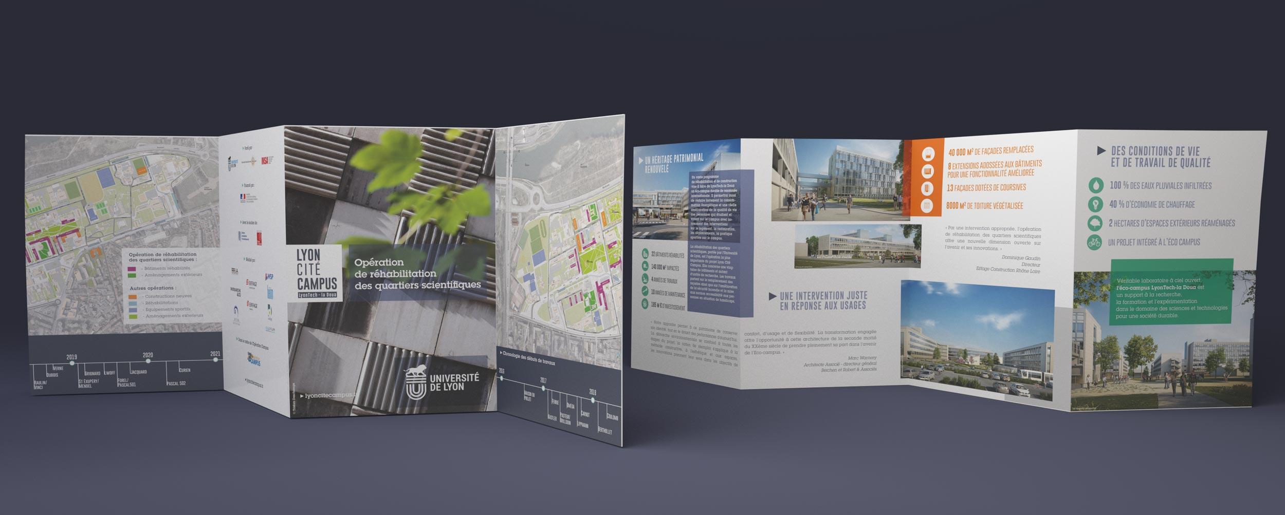 Infographie design identité graphique et communication institutionnelle
