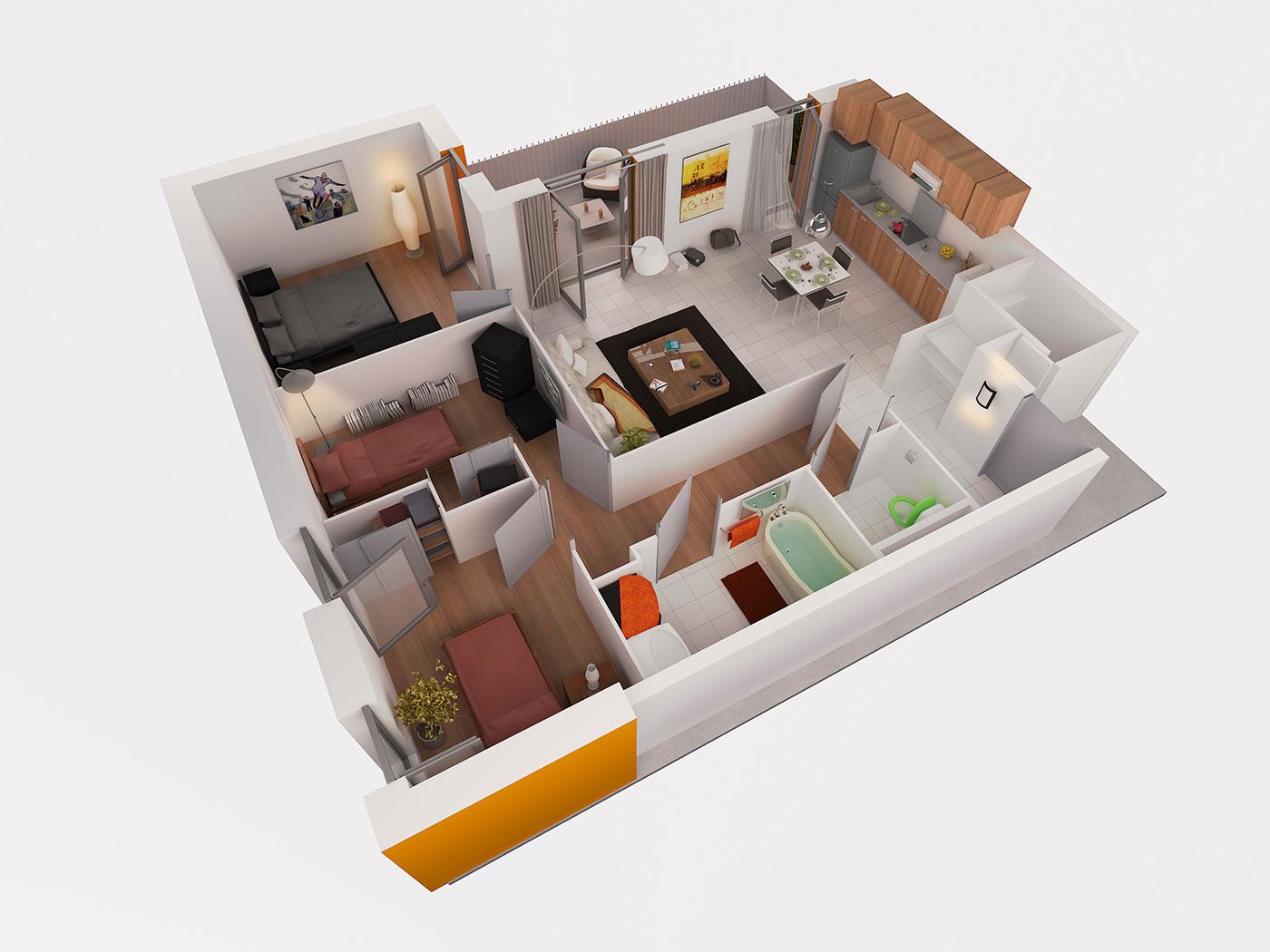 Image 3d promotion immobilière 2014