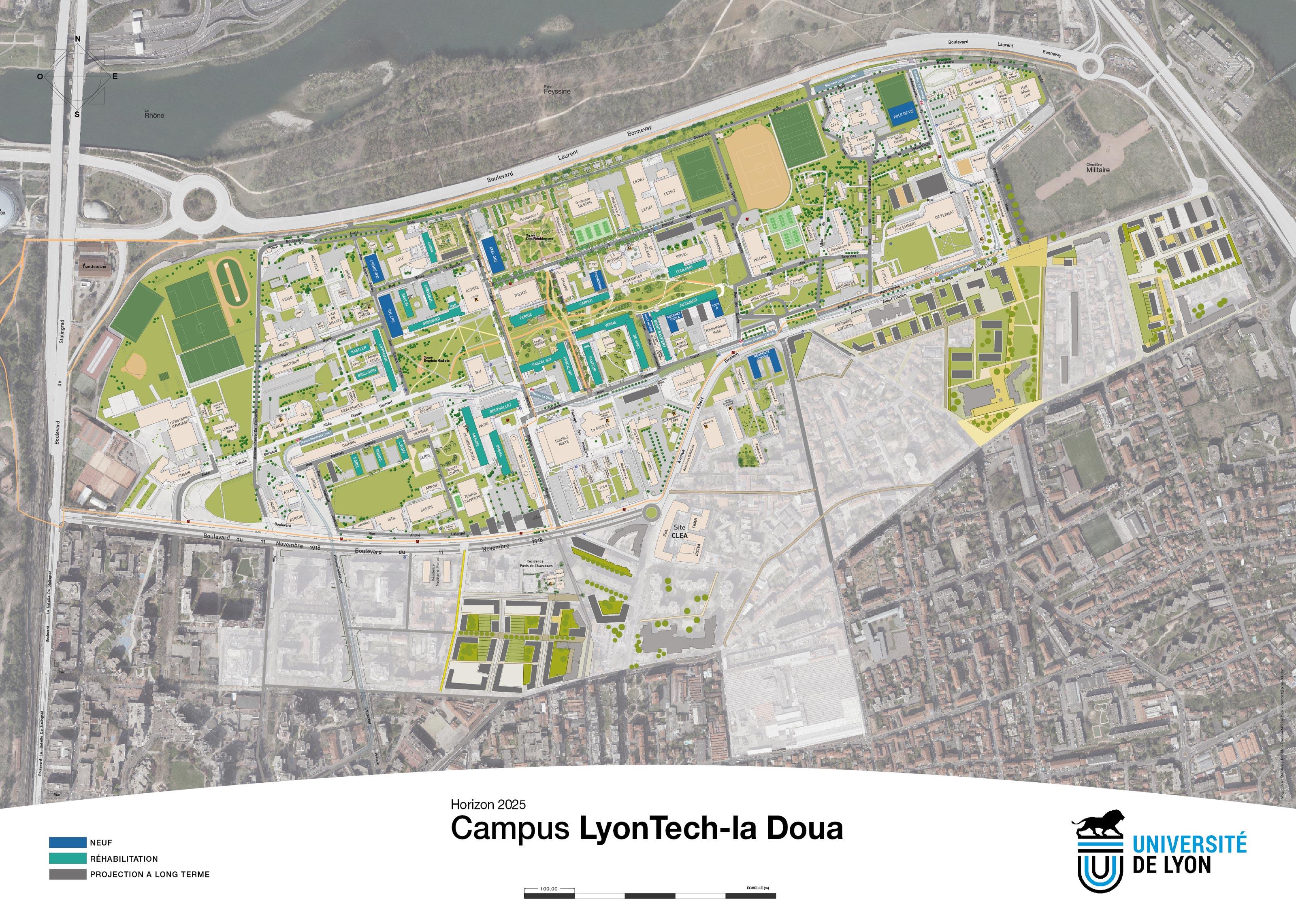 Plan d'urbanisme vectoriel